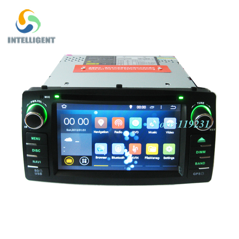 For Toyota Corolla E120 BYD F3 Android 4.4 Quad core RK3188 2 Din Car DVD player with Capacitive screen WIFI 3G GPS Car radio<br><br>Aliexpress