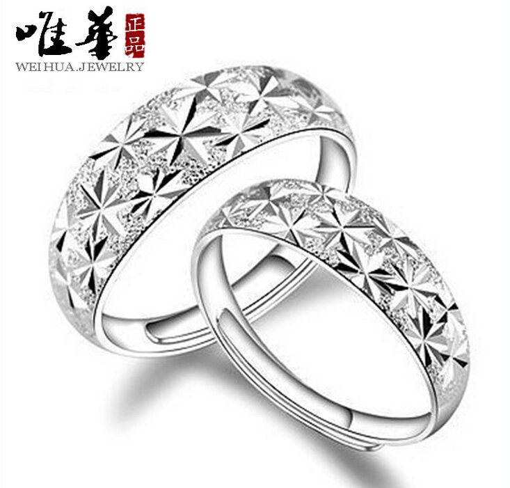 925 Sterling Silver Ring For Men And Women Starry Sky Silver Rings Cheap And Hot Sale OD08(China (Mainland))