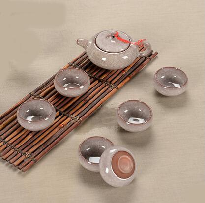 Tea set seven sets Diamond White Kung Fu tea wholesale The highest sales of tea set