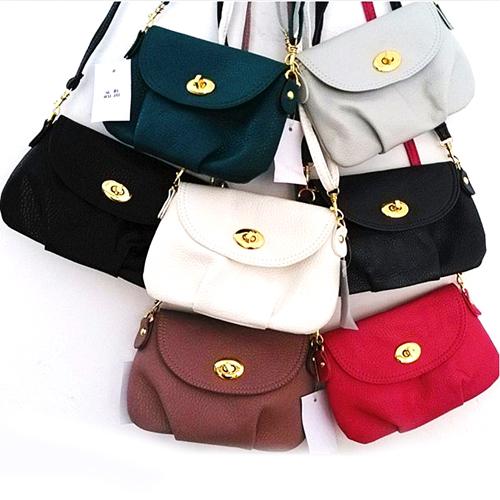 Free Shipping! 1PC New Women Bags Lady Small Handbag Satchel Messenger Cross Body Bag Shoulder Bag Purse, 6 Colors Available(China (Mainland))
