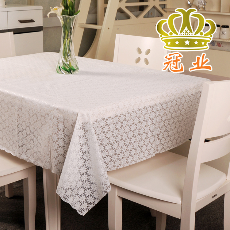 factory price high quality pvc table cloth 2 colors 60