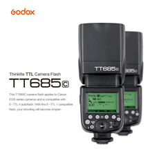 Buy GODOX TT685C E-TTL Speedlight 2.4G HSS 1/8000s GN60 Wireless Flash Speedlite Canon 70D 60D 650D 600D 550D 500D 5D II III for $119.22 in AliExpress store