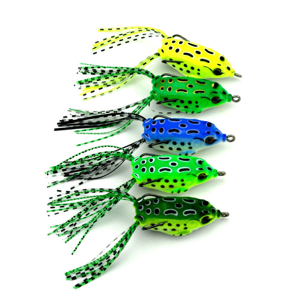 HENGJIA japan fish bait 100pcs spinner baits fishing lures frog lure top water bait 5.5CM 8G artificial soft bait squid jig zoom(China (Mainland))