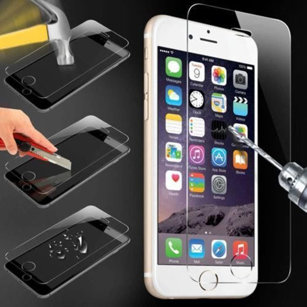 Hot Full Front Screen Protector Film Clear Mirror Tempered Glass Bumper Case for iphone 5G(China (Mainland))