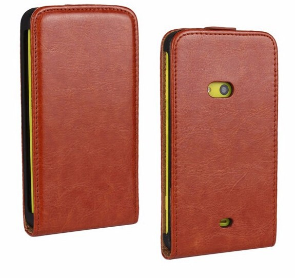 Crazy Horse Leather Vertical Flip Magnet Cover Cell Phones Bag Case Accessories For Nokia Lumia 625 Orginal Mobile Phone Case