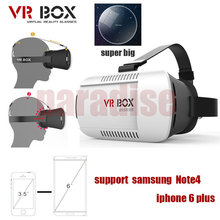 2016 Google cardboard VR BOX Version VR Virtual Reality Glasses rift 3d movies and  3d Games  Movie for 3.5″ – 6.0″ Smart Phone