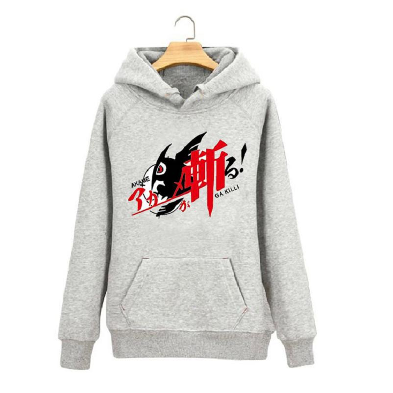 High-Q Unisex Akame ga KILL! cottoon Hoodie Sweatshirts coat Tatsumi Night Raid Akame Mine breathable Hoodies coat Pullovers