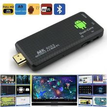 HDMI Android Mini PC Dual Core RK3066 Google TV Box Stick MK809II 1GB RAM 8GB ROM Bluetooth Wifi HDMI MK809 II Free Shipping(China (Mainland))