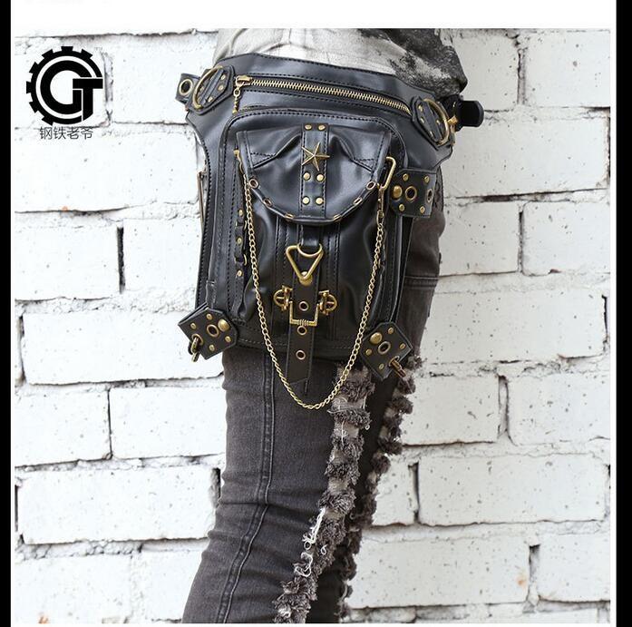 Steampunk thigh Motor leg Outlaw Pack