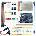 Free shipping Landzo arduino 13 in 1 kit new Starter Kit UNO R3 mini Breadboard LED