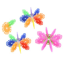 150Pcs Snowflake Assembling Building Blocks Educational Toys Gift For Kids Child(China (Mainland))