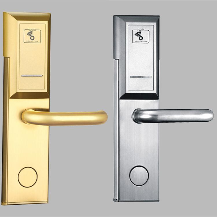 Intelligent electronic lock lock lock lock hotel hotel stainless steel card lock IC card ID card electronic door lock<br><br>Aliexpress