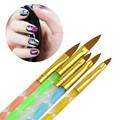 5 Pcs set Nail Art Decorations Brush Tools Acrylic UV Gel Builder Painting Drawing Brushes Pen