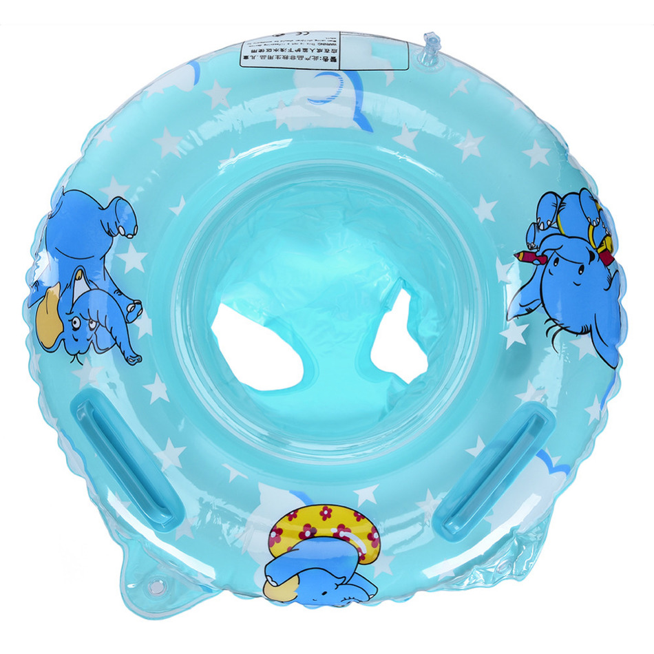 Double Handle Safety Baby Seat Float Swim Ring Inflatable Infant Kids Swimming Pool Rings Water Toys Swim Circle for Kids(China (Mainland))