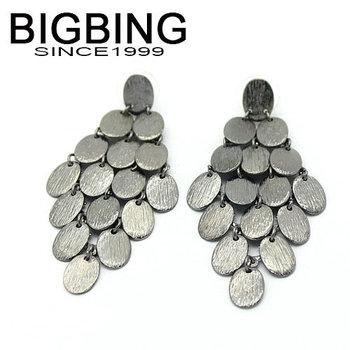 Bigbing ювелирные изделия мода падение кисточкой мотаться серьги 2 цвета мода ювелирные изделия мода серьги высокое качество никель бесплатно K293