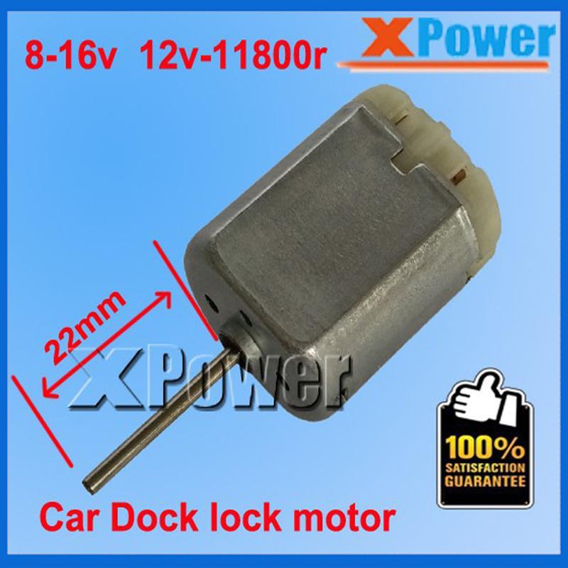 FC280SC-20150 Car Door Lock Motor Shaft 22mm Vehicle Power Window Engine/Car Rearview Mirror Brush Electric Motor Reverse(China (Mainland))