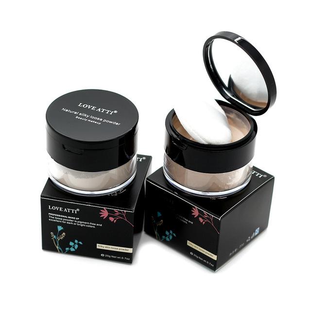 Профессиональный прозрачный пудра нефть управления минеральная косметика для макияжа ...