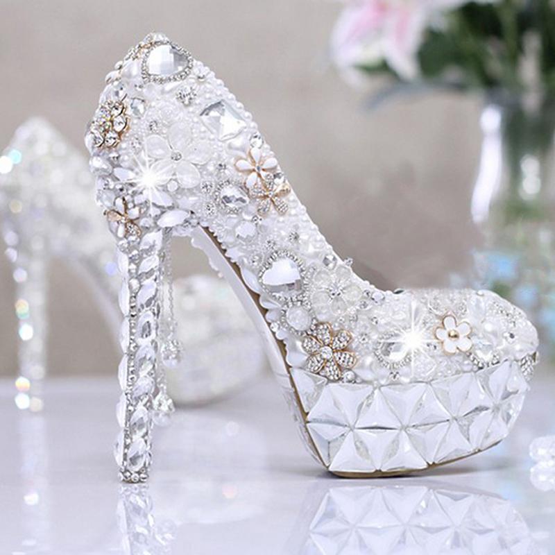2015 beautiful wedding dress shoes s