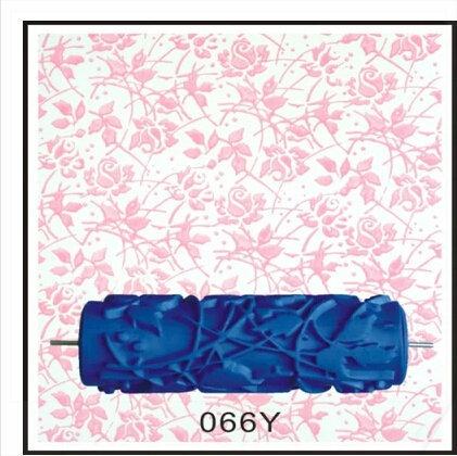 5 de polegada rolo de pintura decorativa floral rolo de for Pintura decorativa efeito 3d