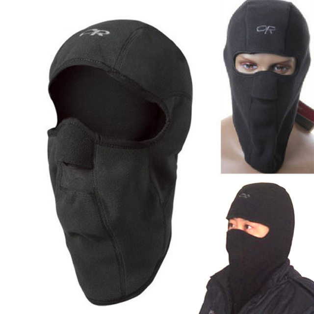Motorcycle Thermal Fleece Balaclava Neck Winter Ski Full Face Mask Cap Cover B2038a - Redavid Store store