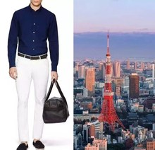 top quality business men long sleeve shirt luxury brand male  clothes(China (Mainland))