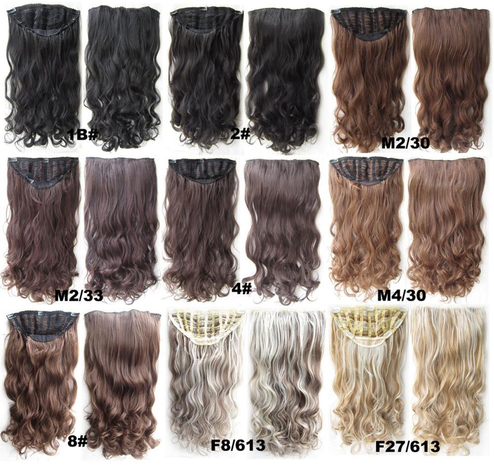 Парик из искусственных волос New 60 /24 130g 7 cabelo sintetica Peluca MS-sch888