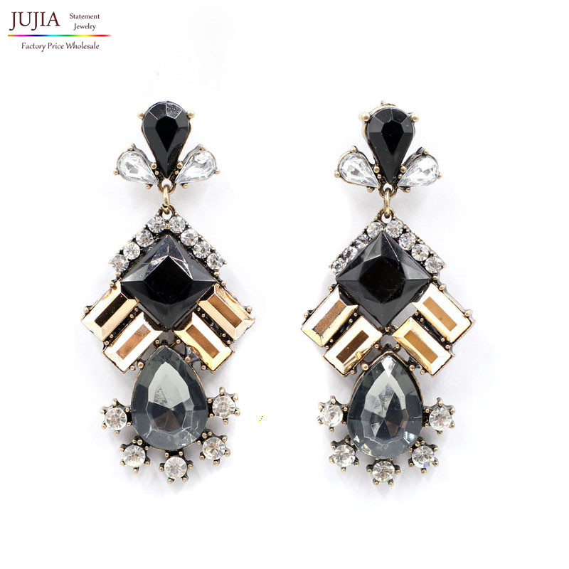 2016 new arrival fashion women statement stud earrings for