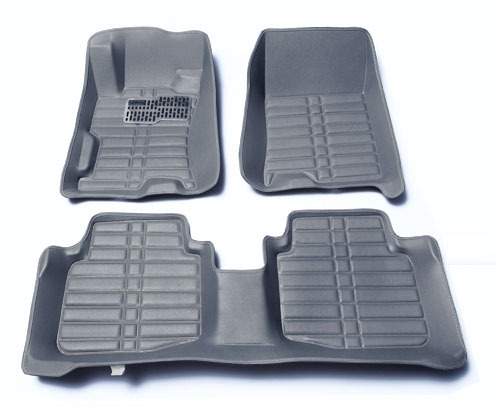 Car accessories Hight-quality Car styling Car floor mats VW Golf 6 7 2008-2016 years 5D Embossed pattern XPE materal(China (Mainland))