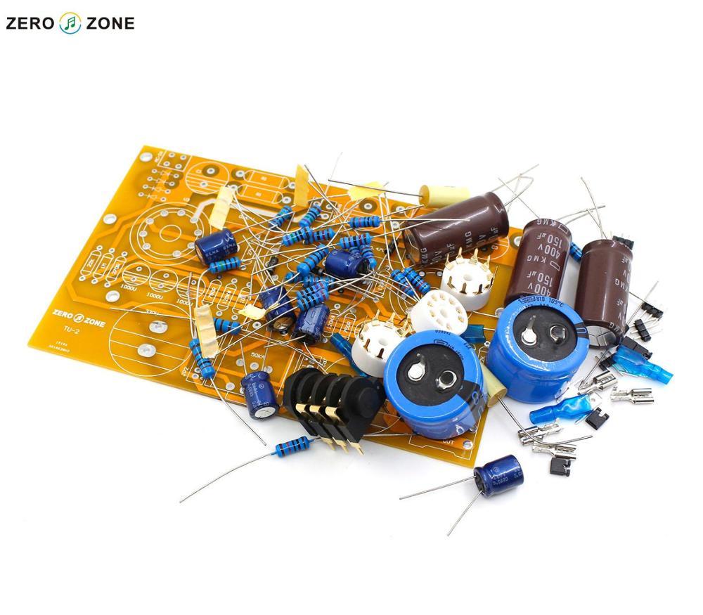 GZLOZONE TU-2 Modified WCF 6N2+6N6 / 6922 Tube Headphone Amplifier Kit Without Tubes + ALPS Potentiometer