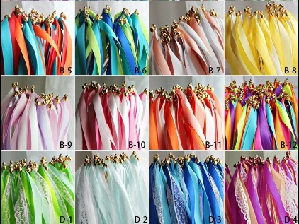 Fashion wedding ribbon fairy stick magic wand garland event party supplies - specially for you store
