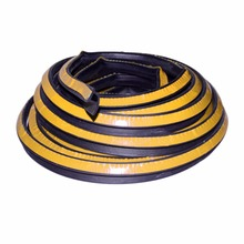 2016 High Quality 3m P type car door rubber seal strip weatherstrip sound insulation noise proofing Fit For Car Truck Motor Door(China (Mainland))