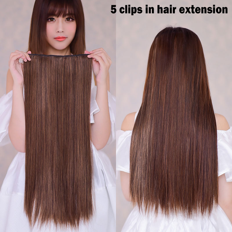 Fake Hair Extension Clips Human Hair Extensions