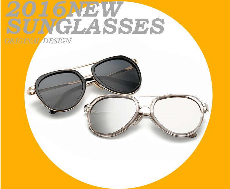 New Design High Quality Unisex Classic Brand Aviation Sunglasses Ladies Sun glasses Oculos de sol 850