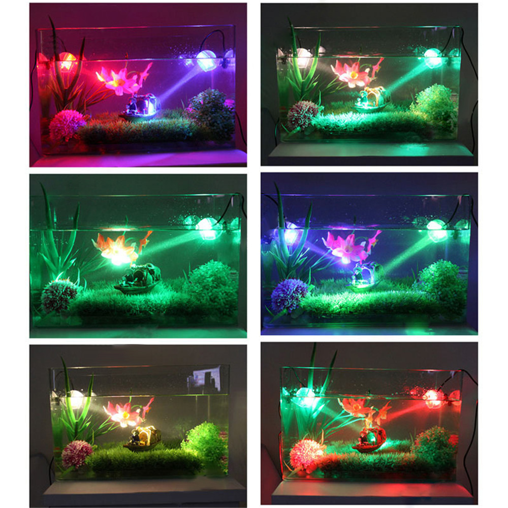 Fish tank night light - High Quality 1w Glowing Led Light Underwater Diving Spotlights Lamp For Aquarium Fish Tank Beautiful Night