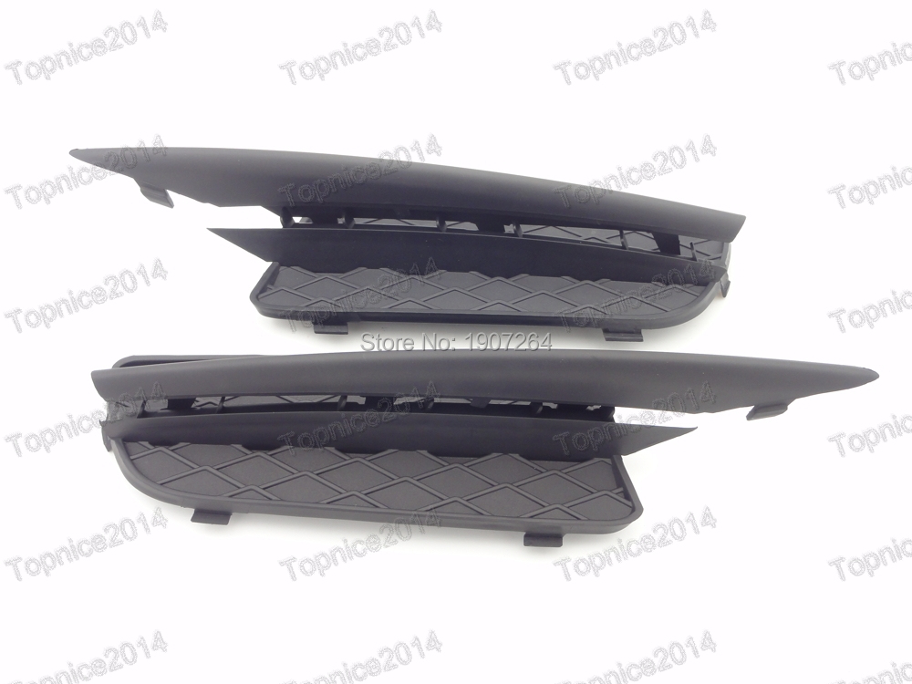 OEM Front Bumper Lateral Grills & Trim Moldings Kits For BMW X5 E70 2007-2010