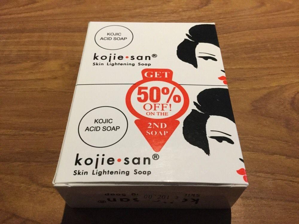 NEW 2 Pcs Kojie San Natural KOJIC Acid SKIN Soap Lightens Dark Spots FREE SHIPPING(China (Mainland))