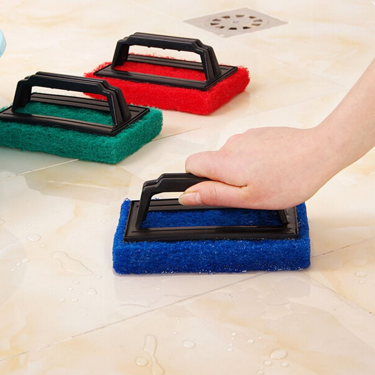 New Household Cleaning Brush Multi-functional Magic Barthroom Litchen Foam Sponge Eraser Stain Remover Melamine Pad Cleaner(China (Mainland))