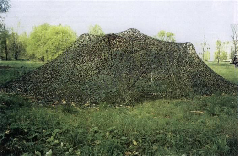 2016 NEW bilayer material 4X6M Military Camouflage Net Woodlands Leaves Camo Netting for Hunting Camping(China (Mainland))