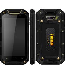 "Original iMAN i5800C IP67 MT6582V/W Quad Core 1.3GHz WaterProof Phone 4.5"" 1GRAM 8GROM Android4.4 960*540 5MP 3G GPS smartphone(China (Mainland))"