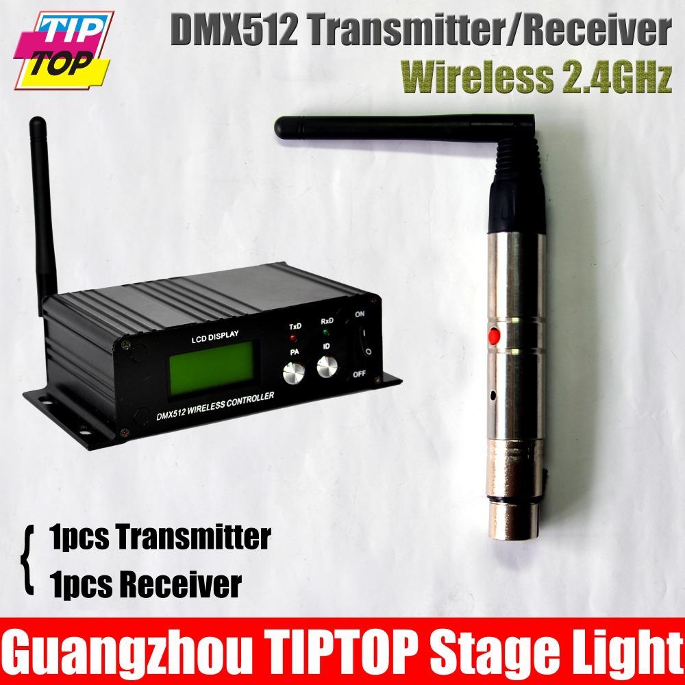 1pcs LCD Display Dmx512 Wireless Transmitter,2.4G Global 1pcs Wireless receiver DMX512 Controller,Dmx Wireless Light Controller<br><br>Aliexpress