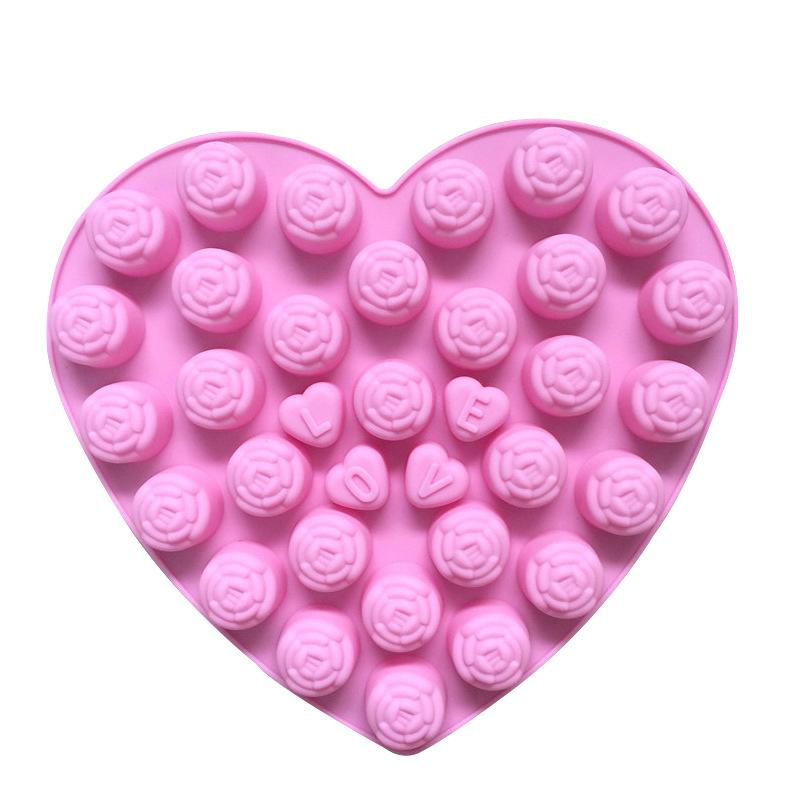 Силиконовая формочка в виде сердца Роза Форма для шоколадного фондана печенье gGqUif2gxdSGFuuy5Mga1GaMit0qk6UsnSkW