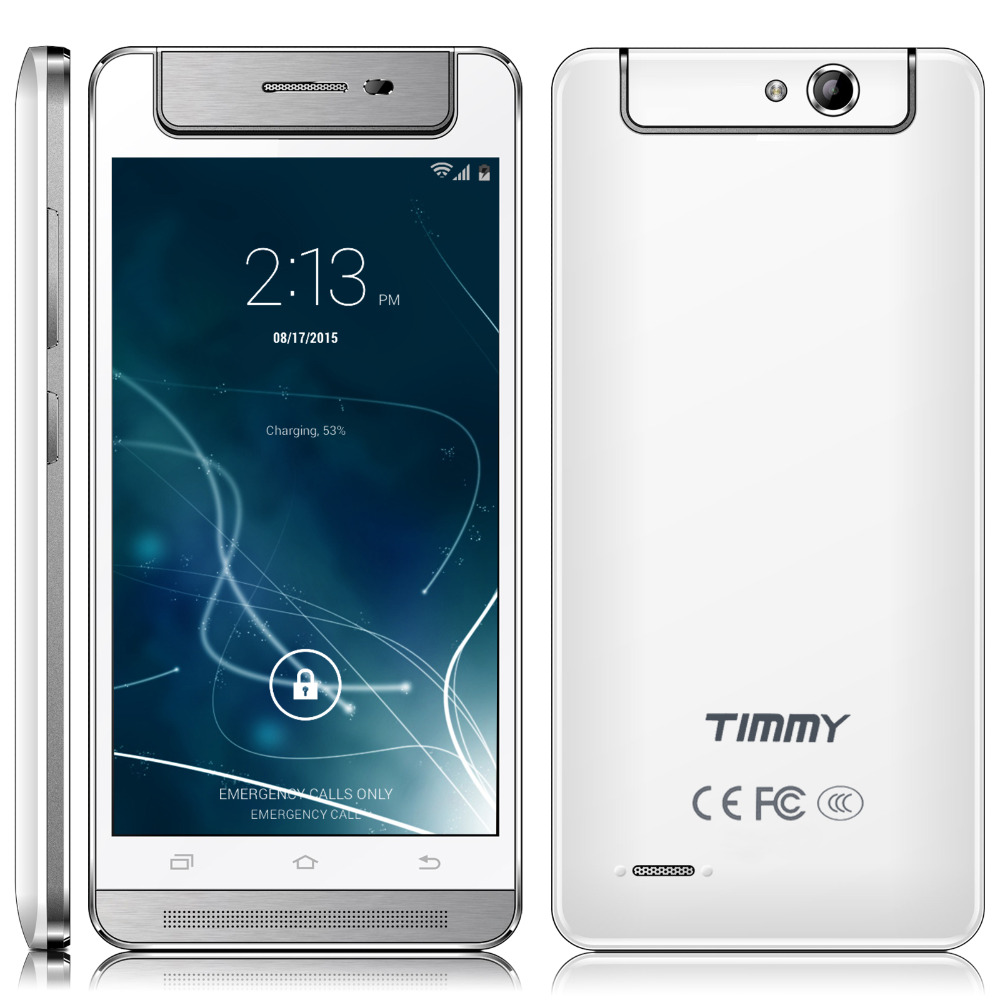 """Timmy Unlocked 5"""" 1G+8GB Smart Phone Android Rotating Camera Cell Phone Quad Core 2 SIM for AT&T Mobile(China (Mainland))"""
