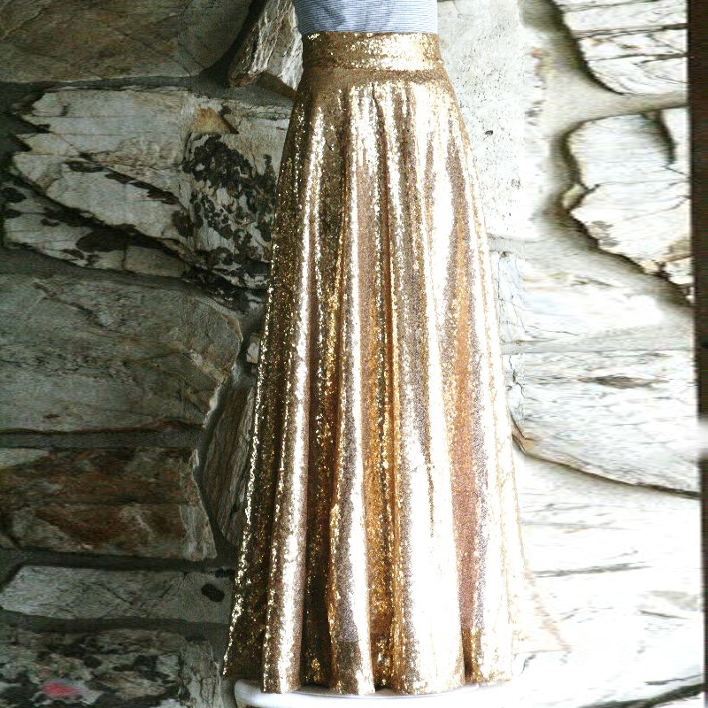 High Quality Wholesale gold long skirt from China gold long skirt ...
