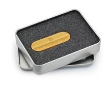 Metal box packing, New Natural DIY Custom LOGO Wooden usb 2.0 memory flash stick pen drive(China (Mainland))