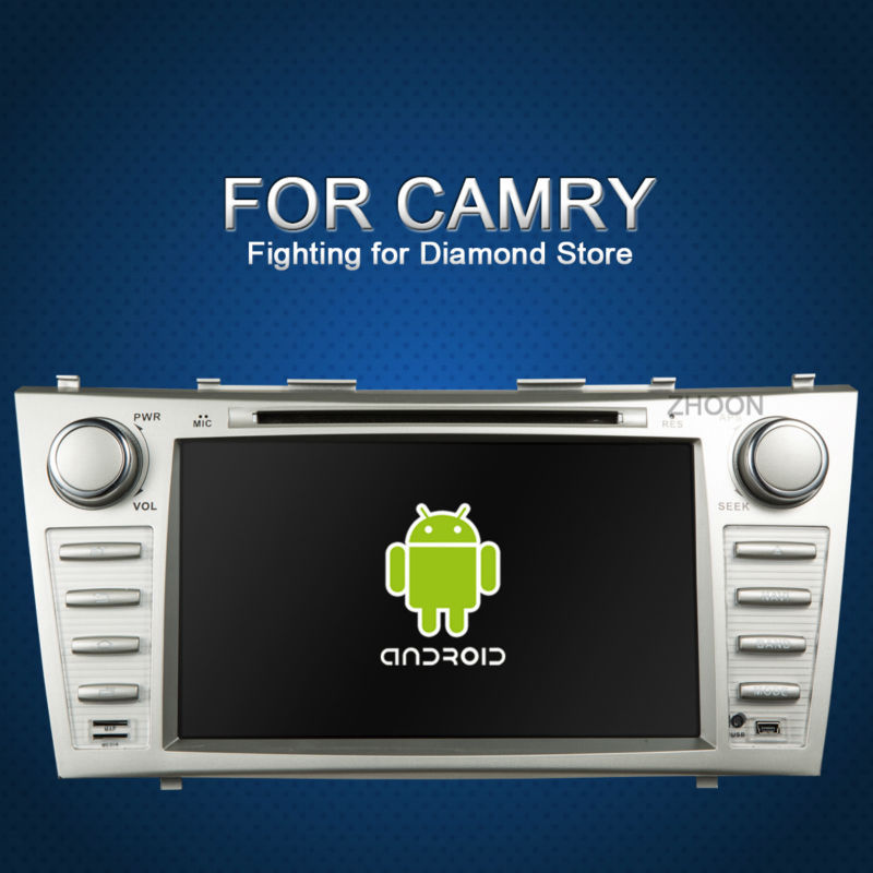 Pure Android 4.2 Car dvd GPS + Glonass Toyota Camry 2007 2008 2009 2010 2011 Capacitive Screen 2 din 8 inch in dash car dvd(China (Mainland))