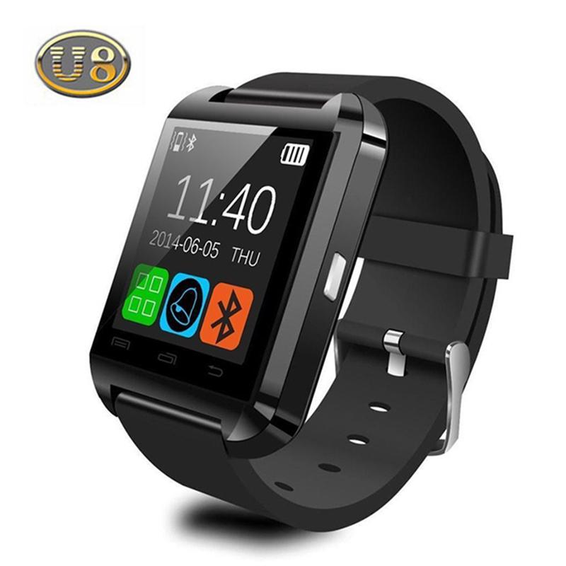 100% Original Bluetooth Smart Watch U8 U Watch Reloj Inteligente for iPhone Android Phone Good as Smartwatch U80 DZ09 GT08(China (Mainland))