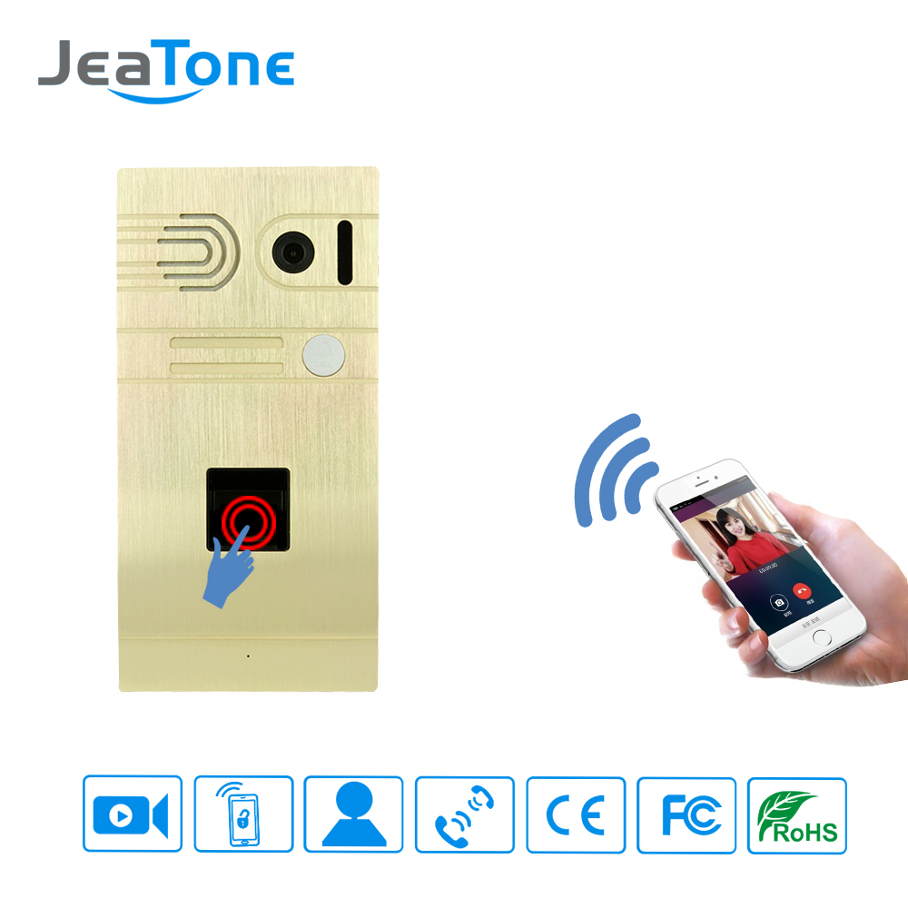 1.3MP Camera Wifi Doorbell And Fingerprint Security Camera Wireless Video Intercom IOS/Android Phone System Control Door Lock(China (Mainland))