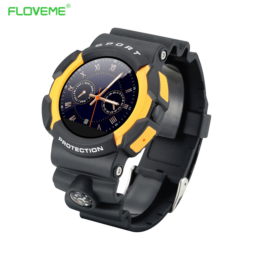 Newest Military Waterproof Bluetooth Smart Watch For Apple iPhone Android Phone Wrist Watches 1.22'' IPS HD Intelligent Bracelet(China (Mainland))