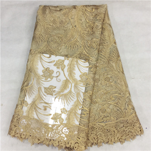 Buy eyl289new african guipure color line lace fabric for Wedding dress fabric stores