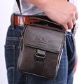 New Men Genuine leather Cowhide Shoulder Messenger Crossbody Brand Famous Belt Hip Bum Waist Pack Fanny